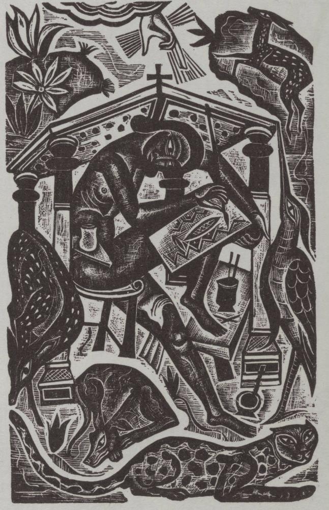 David Jones, The Artist, 1927